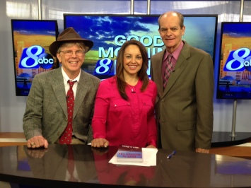 I joined Amanda Sanchez and Dick Stoddard on KOLO-TV 8's Good Morning Reno show on Jan. 8, talking about my book and my upcoming book signings.
