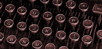 Typerwriter keys  wc sepia E tiny 2349