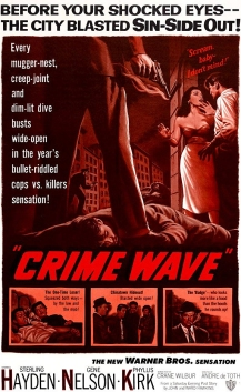 Crime wave movie poster