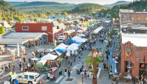 Donner Pass Road in Truckee - Street Fair