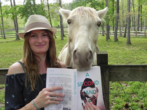 Author Pamela Crane and Tinker